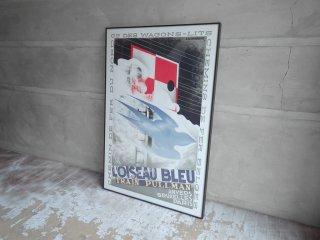 カッサンドル Cassandre ロアゾーブルー L'Oiseau Bleu リトグラフ リトポスター 1989年 アール・デコ Art Deco ♪