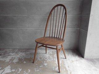 アーコール Ercol オリジナルズシリーズ Originals 1875 クエーカーチェア Quaker chair ダイニングチェア エルム材 UK ダークブラウン ♪