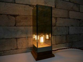 ディティール インク Detail inc. ウッドベースランプ Wood Base Lamp テーブルライト エジソンLED電球付き ●