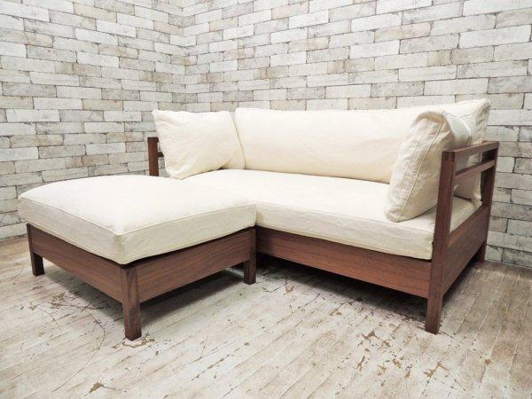 広松木工 Hiromatsu Furniture Inc. リポーゾ RIPOSO オットマン 077 ピエトラナチュラル Karf 購入品 ●