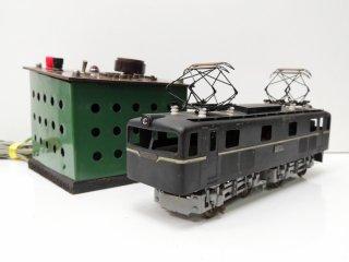 カツミ KTM 電気機関車 ED1052 Oゲージ コントローラー付き ジャンク品 ●