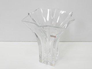 バカラ Baccarat ブーケ Bouquet フラワーベース 花瓶 クリスタル フランス ●