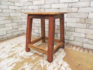 ジャーナルスタンダードファニチャー journal standard Furniture ドリュー DREUX 古材 スツール クラフト インダストリアル ●