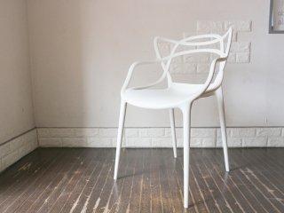 カルテル Kartell マスターズチェア Masters chair フィリップ ・ スタルク Philippe Starck スタッキングチェア ホワイト ◎