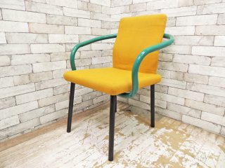 ノール Knoll マンダリンチェア mandarin chair ダイニングチェア エットーレ・ソットサス ポストモダン イタリア 定価 ¥93,500- B ●