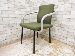 ノール Knoll マンダリンチェア mandarin chair ダイニングチェア エットーレ・ソットサス ポストモダン イタリア 定価 ¥93,500- C ●