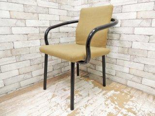 ノール Knoll マンダリンチェア mandarin chair ダイニングチェア エットーレ・ソットサス ポストモダン イタリア 定価 ¥93,500- D ●