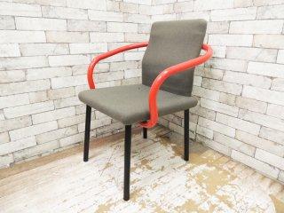 ノール Knoll マンダリンチェア mandarin chair ダイニングチェア エットーレ・ソットサス ポストモダン イタリア 定価 ¥93,500- E ●