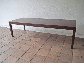 ノル Knoll フローレンス レクタングラー Florence Rectangular Table コーヒーテーブル ローテーブル ウォルナット セミオーダー レア 参考価格 \234,300〜 ◇