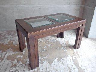 カリモク karimoku ドマーニ domani モーガントン Morganton ガラス ローテーブル センターテーブル ♪