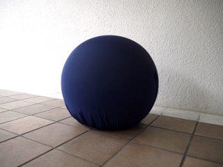 バレリ イタリア Baleri Italia スツール タティーノ Tatino ボール型 参考価格¥75,900- ネイビー オットマン オブジェ フットレスト ◇