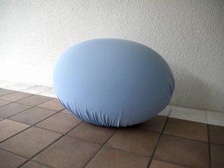 バレリ イタリア Baleri Italia スツール タト Tato 卵型 参考価格¥70,400- ライトブルー オットマン オブジェ フットレスト ◇
