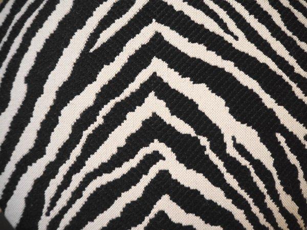 アルテック Artek スツール60 Stool60 3本脚 ブラック ゼブラ生地 2012年 アルヴァ・アアルト Alvar Aalto デザイン フィンランド 北欧家具 希少 ★