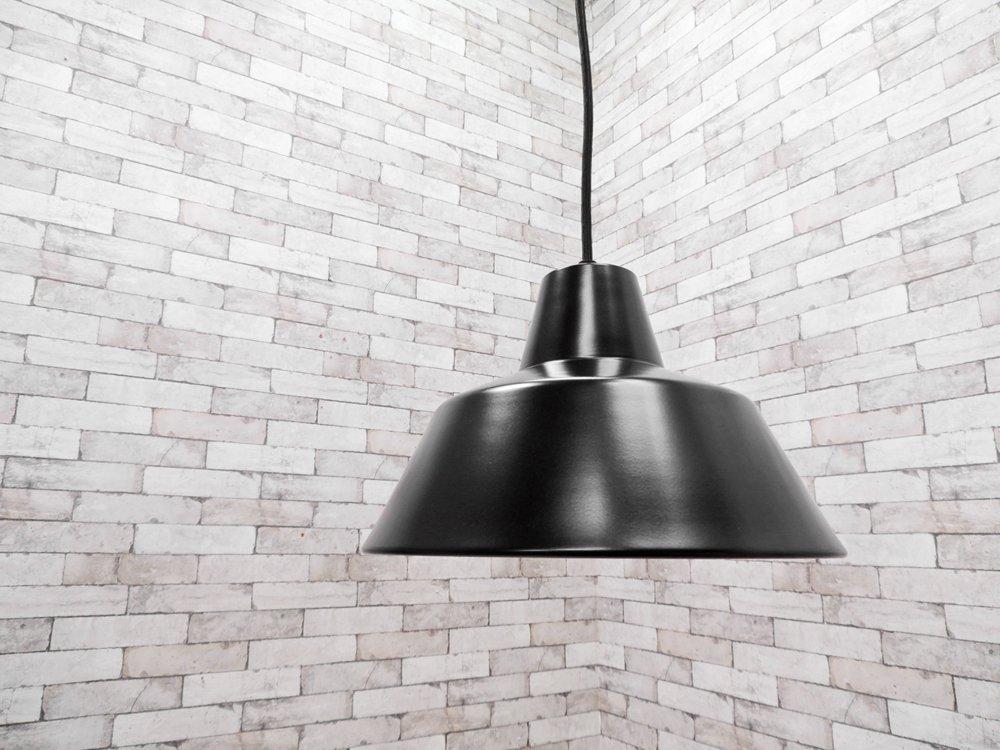 メイド バイ ハンド MADE BY HAND ザ ・ ワークショップ ランプ THE WORKSHOP LAMP ペンダントライト M ブラック デンマーク 箱付 未使用品 ●