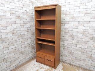 カリモク karimoku スタンダードモダン HT2365MH ブックシェルフ 本棚 書棚 オーク材 ブラウン ●