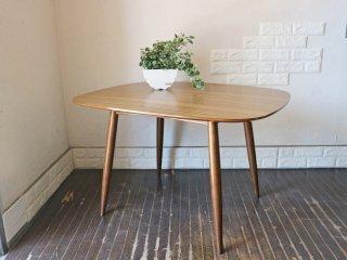 カリモク60+ karimoku Dテーブル ウォールナットカラー デコラトップ カフェテーブル ミッドセンチュリー テーブル ◎