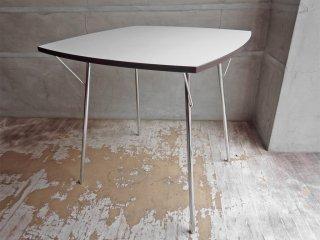 シャミド SHAMIDO 二— ダイニングテ—ブル NY DINING TABLE 折り畳みテーブル 新居猛 ミッドセンチュリーモダン ♪