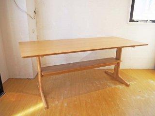 無印良品 MUJI リビングでもダイニングでもつかえる テーブル オーク材 W150cm シンプル ナチュラルデザイン ★
