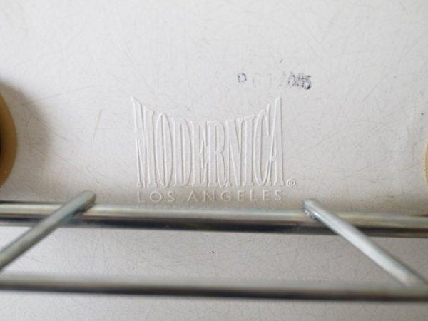 モダニカ MODERNICA アームシェルチェア FRP ファイバーグラス ホワイト ロッカーベース RAR C&R イームズ アメリカ製 ミッドセンチュリー 定価68,255円 ◇