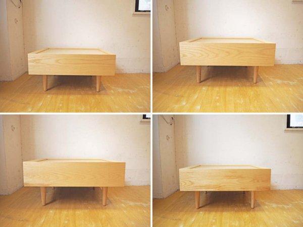 グラフ graf デイベッド コーナーテーブル Daybed Table デイベッド コーナーテーブル ホワイトアッシュ adシリーズ ★