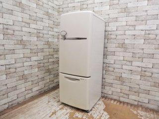 ナショナル National ウィル WiLL 冷凍冷蔵庫 ホワイト 2006年製 165L 廃番 ノスタルジック ●