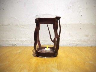 スカーガーデン skargaarden キャンドルランタン Candle lantern レザーストラップ ガラス 北欧 デンマーク★