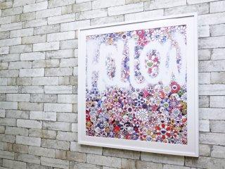 カイカイキキ Kaikai Kiki 村上隆 Takashi Murakami HOLLOW オフセット・リトグラフ 93/300 額装品 アートポスター 直筆サイン入り ●