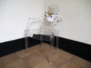 カルテル Kartell × ユニバーサルスタジオ ルールーゴースト Lou Lou Ghost 子供椅子 キッズチェア 世界限定100脚 ミニオン MINIONS 展示美品 Starck ◇