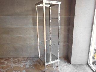 アートスタイルマーケット Art style market デザインシェルフ design shelf ステンレス×ガラス 展示品 ♪