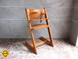 ストッケ STOKKE トリップトラップ TRIPP TRAPP チェア 旧型 ベビーチェア ナチュラル ステップアップ ハイチェア 子供椅子 正規品 ◇