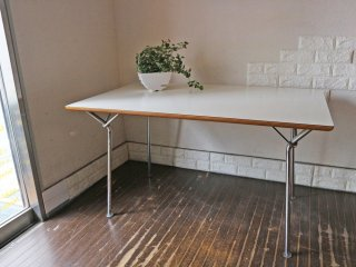 コトブキ60 KOTOBUKI センターテーブル ダイニングテーブル メラミン天板×スチールレッグ 柳宗理 ミッドセンチュリー ◎