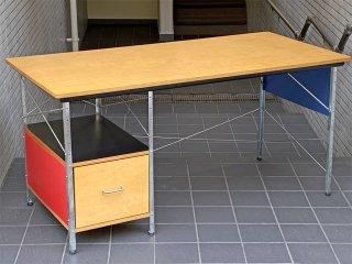 ハーマンミラー Herman Miller イームズデスクユニット Eams Desk Unit マルチカラー ジンクフレーム ミッドセンチュリー ■
