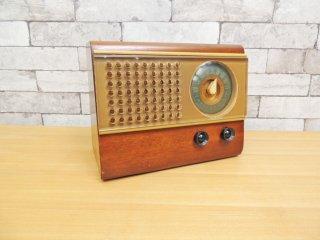 エマーソン emerson 小型 真空管 ラジオ model 504 US ビンテージ 米国 ●