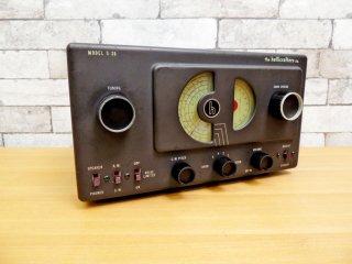 ハリクラフターズ  Hallicrafters 小型 真空管 ラジオ S-38 US ビンテージ 米国 ジャンク品 ●