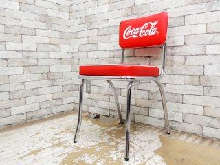 コカ・コーラ Coca Cola ダイナーチェア ダイニングチェア 50sビンテージスタイル A ●