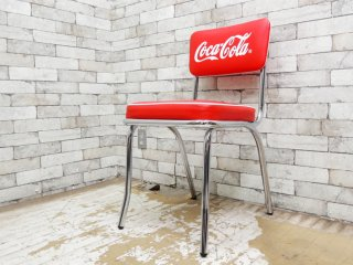 コカ・コーラ Coca Cola ダイナーチェア ダイニングチェア 50sビンテージスタイル B ●