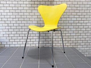 フリッツハンセン Fritz Hansen セブンチェア レモン lemon イエロー yellow アルネ・ヤコブセン スタッキングチェア 北欧 デンマーク ■