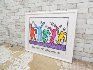 キース・ヘリング Keith Haring ダンサーズ Dancers ポスター アート ポップ ストリートアート ●