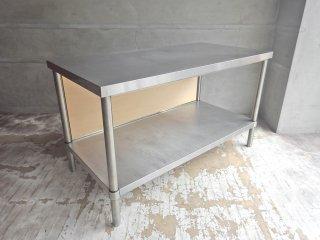 アートスタイルマーケット Art Style Market MONOシリーズ BEAM BAJ-12060 ワーキングテーブル ステンレスデスク 作業台 ♪