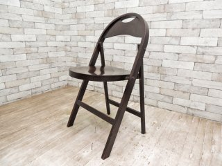 トーネット THONET ビンテージ フォールディング ベントウッドチェア B-751 ミハエル・トーネット デザイン 曲げ木 折りたたみ椅子 バウハウス ●