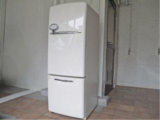 ナショナル National ウィル WiLL フリッジ ・ミニ FRIDGE - mini 冷凍冷蔵庫 ホワイト 2004年製 162L NR-B162R 廃番 ノスタルジック 付属品完備 ◇