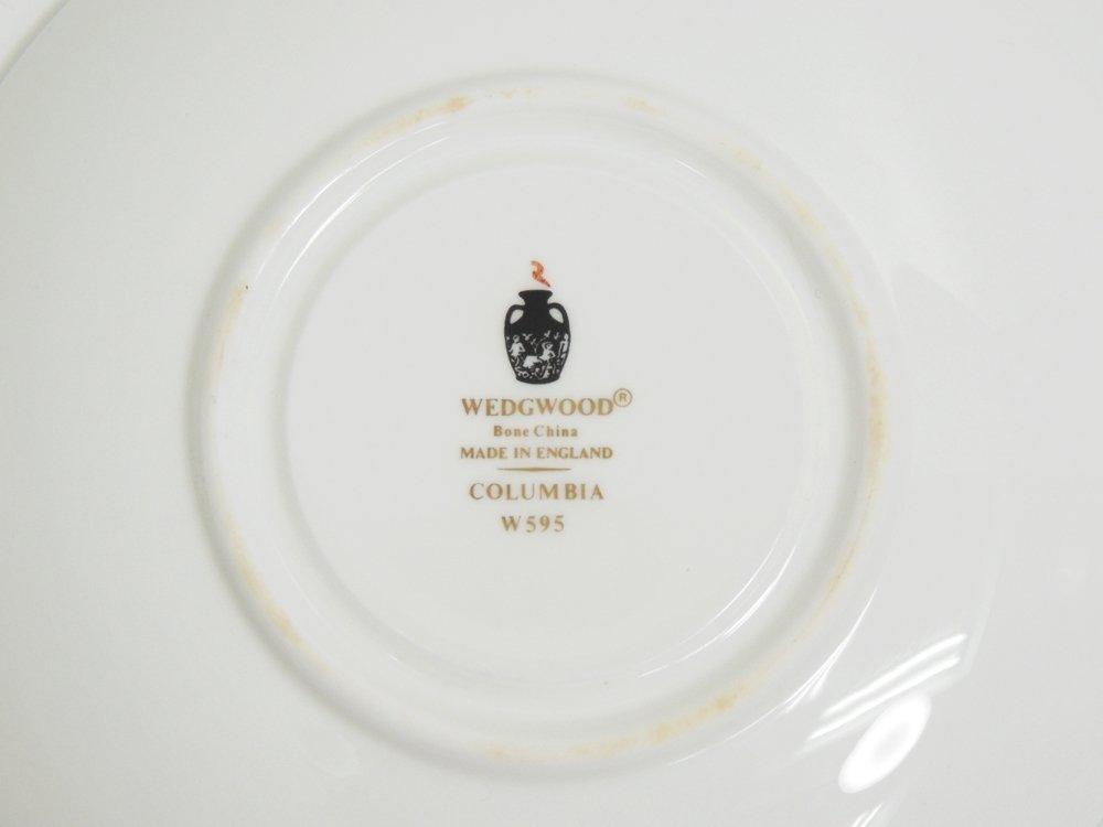 ウェッジウッド WEDGE WOOD コロンビア エナメル COLUMBIA ENAMELLED カップ&ソーサー C&S ●