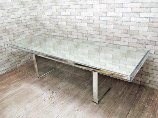 グラスイタリア GLAS ITALIA プリズムミラーテーブル 吉岡徳仁 定価¥1,167,100- ●