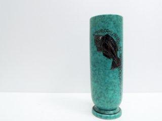 グスタフスベリ Gustavsberg アルジェンタ ARGENTA フラワーベース 花瓶 一輪挿し 北欧●