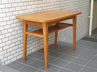 ウニコ unico クルト KURT カフェテーブル オーク材 コーヒーテーブル 幅100cm 北欧スタイル ■