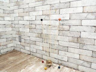 ビンテージ vintage アンブレラスタンド 傘立て マルチカラー 50'S インテリア 雑貨 ●