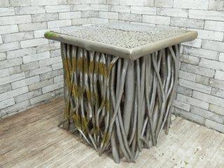 BC工房 無垢材 ダイニングテーブル ペイント オーダー家具 店舗什器 ●