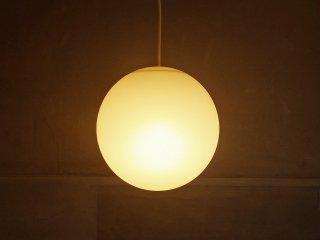 無印良品 MUJI モディファイ MODIFY スフィア SPHERE ペンダントライト 球 ホワイト Mサイズ LED電球 パナソニック ♪