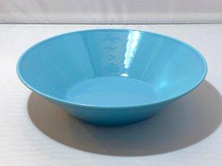 イッタラ iittala ティーマ TEEMA プレート 深皿 ターコイズブルー カイ・フランク Kaj Franck 廃番 A ■