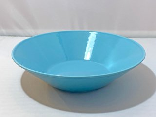 イッタラ iittala ティーマ TEEMA プレート 深皿 ターコイズブルー カイ・フランク Kaj Franck 廃番 B ■